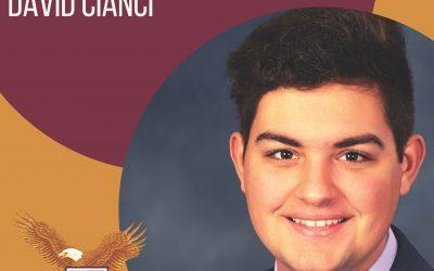 Congratulations to our Salutatorian, David Cianci