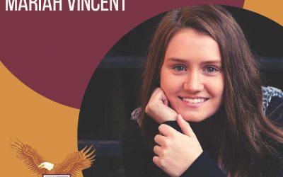 Way to go, Mariah Vincent! Class of 2020 Valedictorian