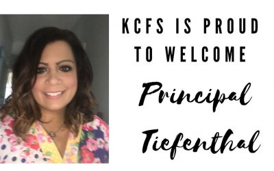 KCFS is proud to welcome Principal Tiefenthal