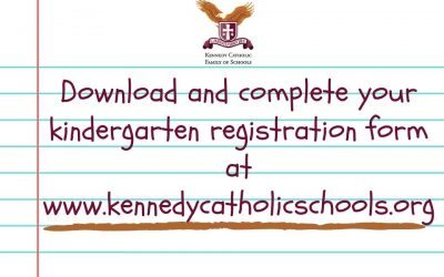 Kindergarten registration happening now!