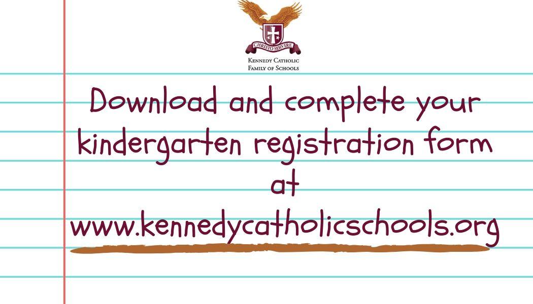 Kindergarten registration happening now!